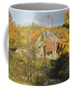 Old Buildings And Fall Colors In Vienna Maine Coffee Mug by Keith Webber Jr