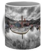 Old Dock Coffee Mug by Adrian Evans