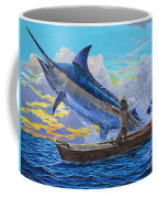 Old Man's Battle Off00133 Coffee Mug by Carey Chen