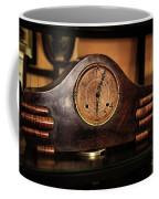 Old Mantelpiece Clock Coffee Mug by Kaye Menner