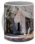 Old Schoolhouse Building Coffee Mug by Susan Leggett