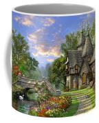 Old Waterway Cottage Coffee Mug by Dominic Davison