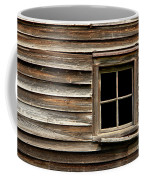 Old Window And Clapboard Coffee Mug by Olivier Le Queinec