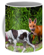 On The Scent Impasto Coffee Mug by Steve Harrington