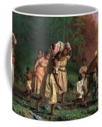 On To Liberty Coffee Mug by Theodor Kaufmann