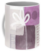 One Flower- Contemporary Painting Coffee Mug by Linda Woods