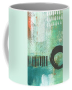 Open Gate- Contemporary Abstract Painting Coffee Mug by Linda Woods