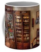 Optometrist - The Optometrists Office Coffee Mug by Mike Savad