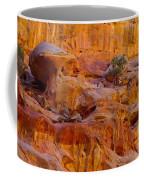Orange Rock Formation Coffee Mug by Jeff Swan