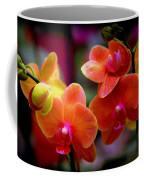 Orchid Melody Coffee Mug by Karen Wiles