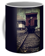 Other Side Of The Tracks Coffee Mug by Edward Fielding