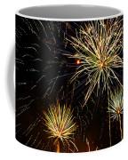 Paint The Sky With Fireworks  Coffee Mug by Saija  Lehtonen