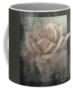 Pale Rose Photoart Coffee Mug by Debbie Portwood