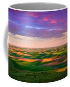 Palouse Land And Sky Coffee Mug by Inge Johnsson