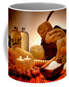 Pampering Coffee Mug by Olivier Le Queinec