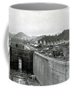 Panama Canal Construction 1910 Coffee Mug by Photo Researchers