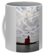 Partly Cloudy Coffee Mug by Michelle Calkins