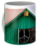Peace Barn Coffee Mug by Bill Gallagher