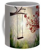 Peaceful Morning Glow Coffee Mug by Kaye Menner