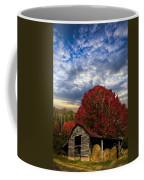 Pear Trees On The Farm Coffee Mug by Debra and Dave Vanderlaan