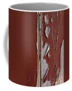 Peeling Paint Coffee Mug by Carlos Caetano