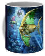 Pescatus Mechanicus Coffee Mug by Ciro Marchetti