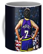 Pete Maravich Coffee Mug by Florian Rodarte