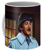 Peter Sellers As Inspector Clouseau  Coffee Mug by Paul Meijering