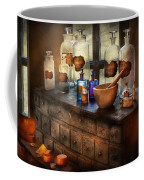 Pharmacist - Medicinal Equipment  Coffee Mug by Mike Savad