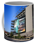 Philadelphia Eagles - Lincoln Financial Field Coffee Mug by Frank Romeo