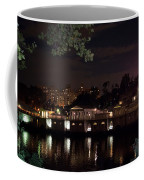 Philly Waterworks At Night Coffee Mug by Bill Cannon