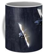 Phoenix Dancing Coffee Mug by Angel  Tarantella