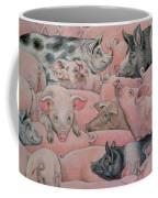 Pig Spread Coffee Mug by Ditz
