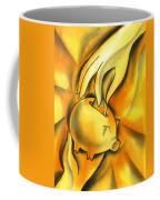 Piggy Bank Coffee Mug by Leon Zernitsky