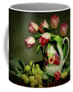 Pink In A Pitcher Coffee Mug by Diana Angstadt