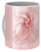 Pink Ruffled Begonia Flower Coffee Mug by Jennie Marie Schell