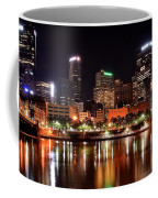 Pittsburgh Panorama Coffee Mug by Frozen in Time Fine Art Photography