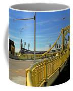 Pittsburgh - Roberto Clemente Bridge Coffee Mug by Frank Romeo