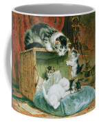 Playtime Coffee Mug by Henriette Ronner-Knip