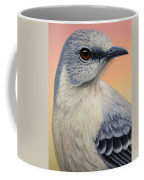 Portrait Of A Mockingbird Coffee Mug by James W Johnson
