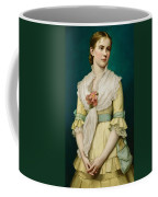 Portrait Of A Young Girl Coffee Mug by George Chickering Munzig
