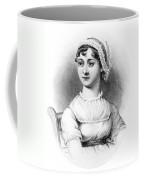 Portrait Of Jane Austen Coffee Mug by English School