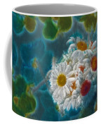 Pot Of Daisies 02 - S11bl01 Coffee Mug by Variance Collections