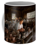 Potter - Raised In The Clay Coffee Mug by Mike Savad