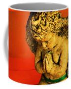 Praying Angel Coffee Mug by Susanne Van Hulst
