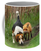 Probably The World's Worst Hunting Dog Coffee Mug by Mircea Costina Photography
