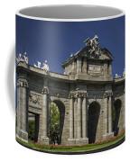 Puerta De Alcala Madrid Spain Coffee Mug by Susan Candelario