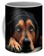Puppy Dog Eyes Coffee Mug by Christina Rollo