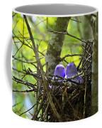 Purple Peeps Pair Coffee Mug by Al Powell Photography USA