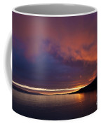 Purple Skies Coffee Mug by Heiko Koehrer-Wagner